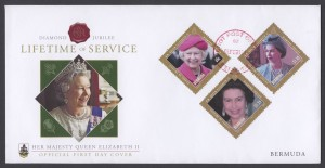 2012 Diamond Jubilee Lifetime of Service FDC