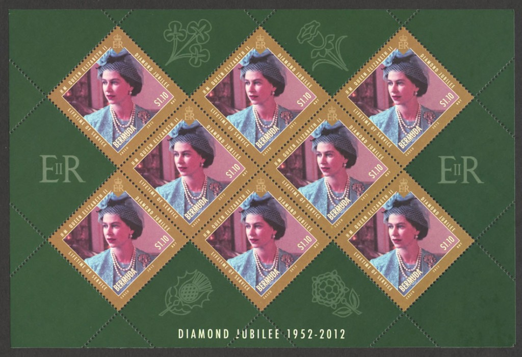 2012 Diamond Jubilee Lifetime of Service $1.10