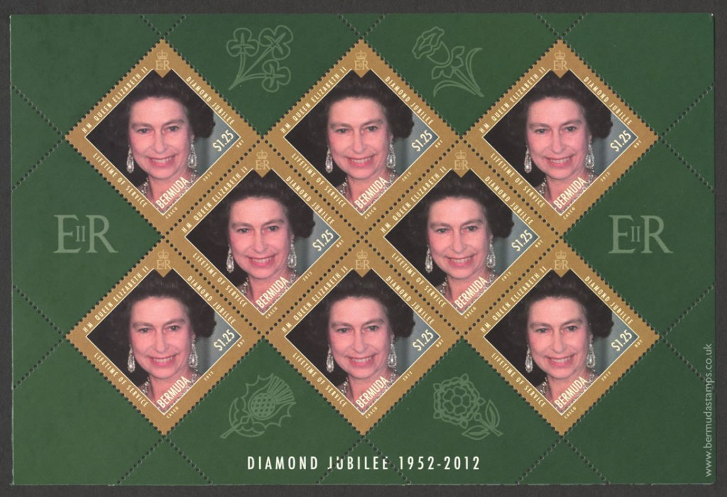 2012 Diamond Jubilee Lifetime of Service $1.25