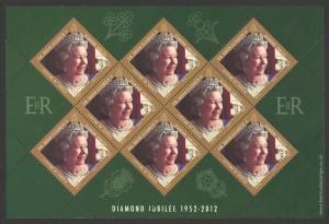 2012 Diamond Jubilee Lifetime of Service 35c