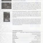 2012 Masterworks Museum of Bermuda Art 1987-2012 insert rev FDC