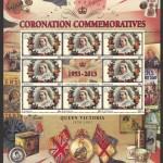 2013 60th Anniversary of the Coronation 10c Souvenir Sheet