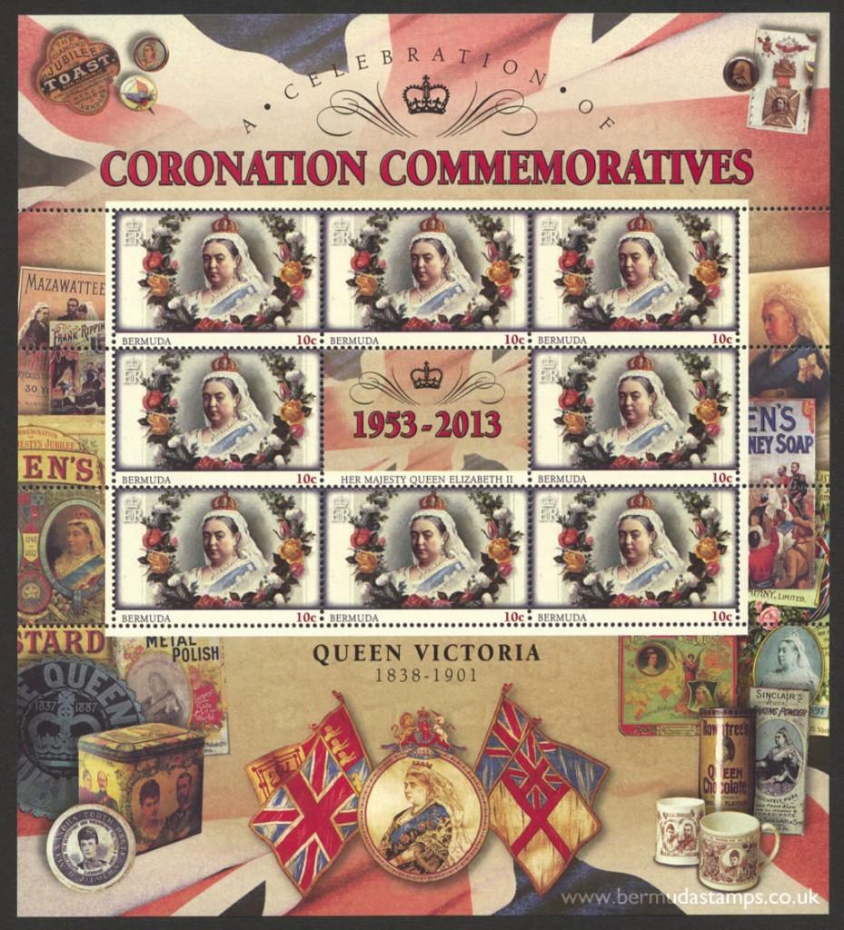 2013 60th Anniversary of the Coronation 10c Souvenir Sheet