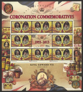2013 60th Anniversary of the Coronation 35c Souvenir Sheet