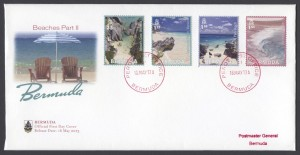 2013 Bermuda Beaches Part II FDC
