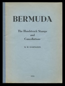 1956 Bermuda The Handstruck Stamps and Cancellations Ludington