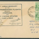 1957 20th Anniversary Passenger Flights CC