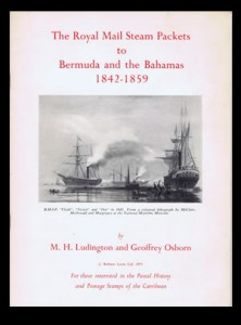 1971 The Royal Mail Steam packets to Bermuda and the Bahamas 1842-1859