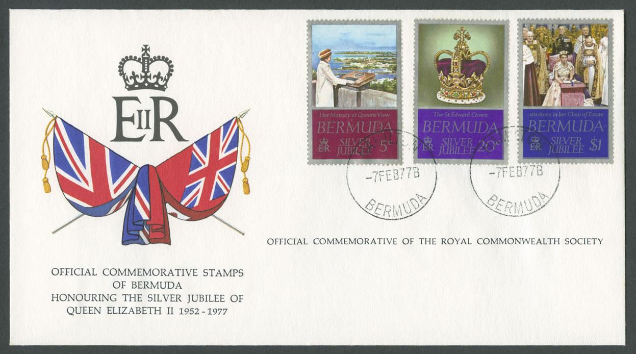 1977 Silver Jubillee of Queen Elizabeth II FDC
