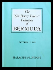 """1978 The """"Sir Henry Tucker"""" Collection of Bermuda, Part One"""