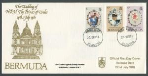 1981 Royal Wedding Charles and Diana FDC