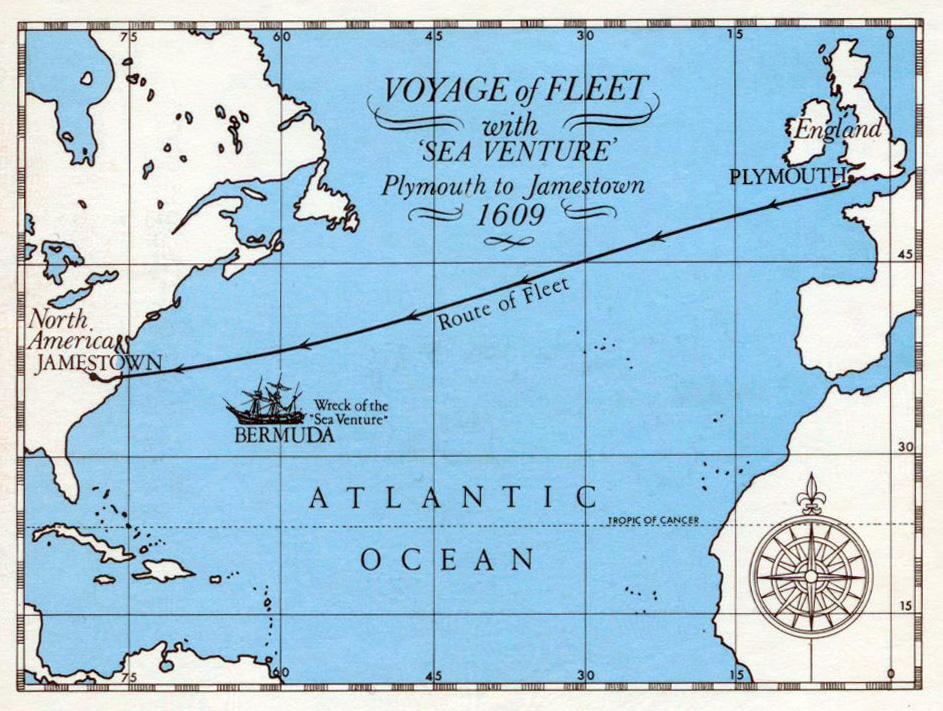 1984 375th Anniversary Map
