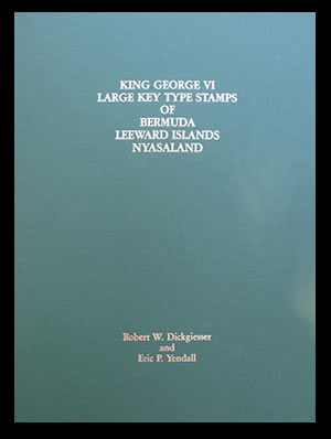 1985 King George VI Large Key Type Stamps of Bermuda Leeward Islands Nyasaland