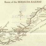 1987 Map of Bermuda Railway
