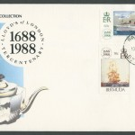 1988 Lloyd's of London Tercentenary FDC