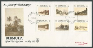1989 150 Years of Photography FDC