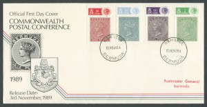 1989 Commonwealth Postal Conference FDC