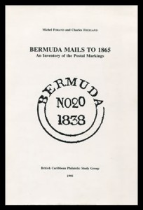 1995 Bermuda Mails to 1865 Inventory of Post Markings
