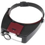 magnifying headset