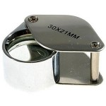 folding stamp loupe