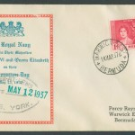 1937 Royal Navy Coronation FDC