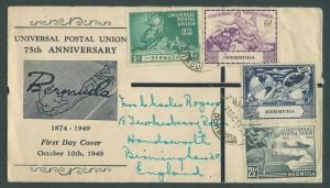 1949 Universal Postal Union FDC