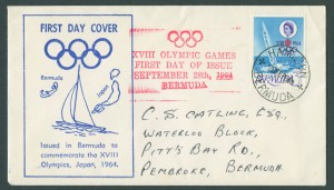1964 XVII Olympic Games Japan FDC
