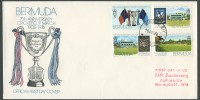 1976 75th Anniversary Cricket Cup Match FDC