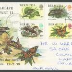 1979 Bermuda Wildlife Definitive Pt II FDC
