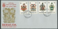1983 Bermuda Coats of Arms Part 1 FDC