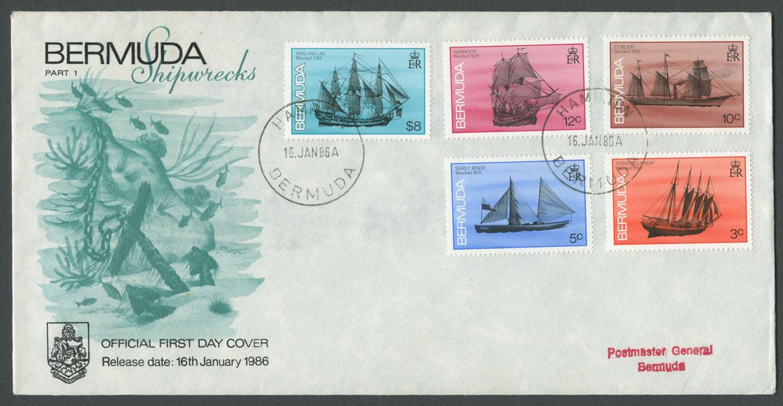 1986 Bermuda Shipwrecks Part I