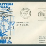 1968 British Eagle Inaugural Flight to Bermuda FF
