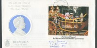 1985 Life and Times of the Queen Mother Miniature Sheet FDC