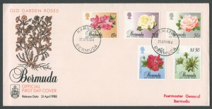 1988 Old Garden Roses Part 1 FDC