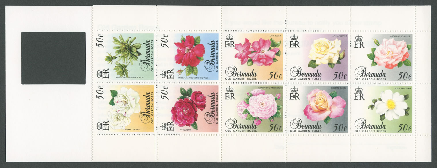 1989 Old Garden Roses Inside Booklet