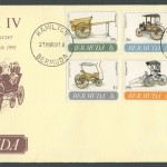 1991 Bermuda Transport IV FDC