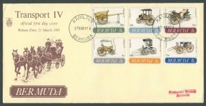 1991 Bermuda Transport IV FDC