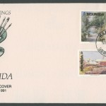 1991 Bermuda Paintings Part III FDC