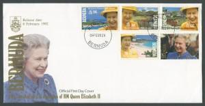 1992 40th Anniversary of Accession of HM Queen Elizabeth II FDC