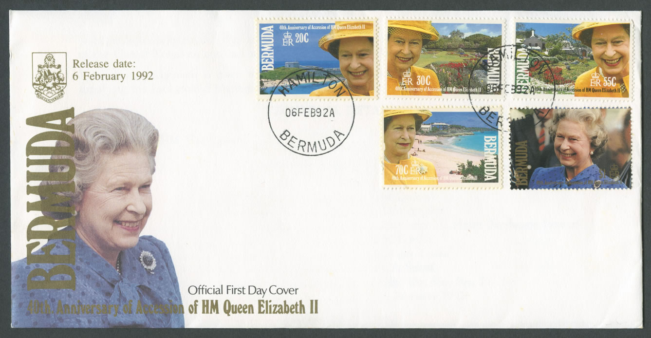 1992 40th Anniversary of Accessionof HM Queen Elizabeth II