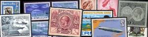 Bermuda commemorative stamps