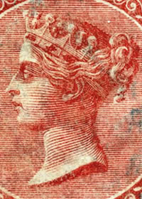 1865 Queen Victoria Portrait DLR