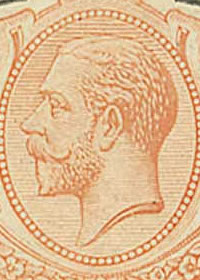 1918 King George V Key Type Portrait