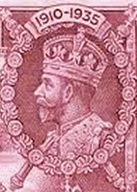 1935 King George V Silver Jubilee Portrait