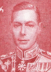 1937 King George VI Coronation Portrait