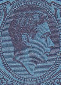 1937 King George VI Key Type Portrait