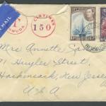 1941 Wartime Censor Letter