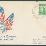 1941 Naval Operating Base Bermuda BR Patriotic Cover