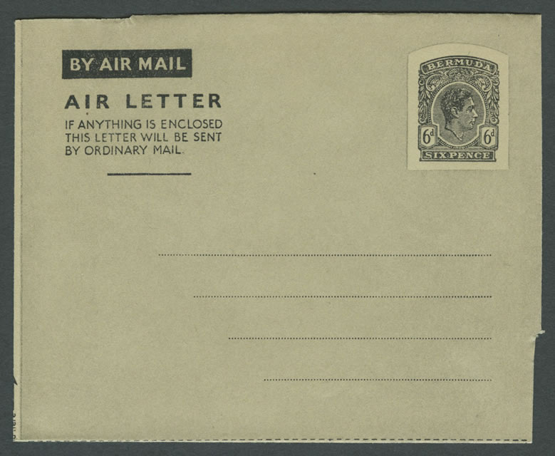 1945 King George VI 6d Air Letter