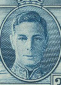 1937 King George VI Peace Portrait
